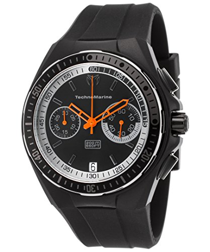 technomarine-tm-115331-mens-cruise-sport-chronograph-black-silicone-and-dial-watch