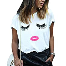 Cocobla ET Teen Girls 3D Print Aliens Crop Top Short Sleeve T-Shirt 7 Colors