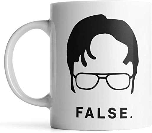 Funny Coffee Cup Ceramic Coffee Mug PaPa Mugs Dwight Schrute Coffee Mug