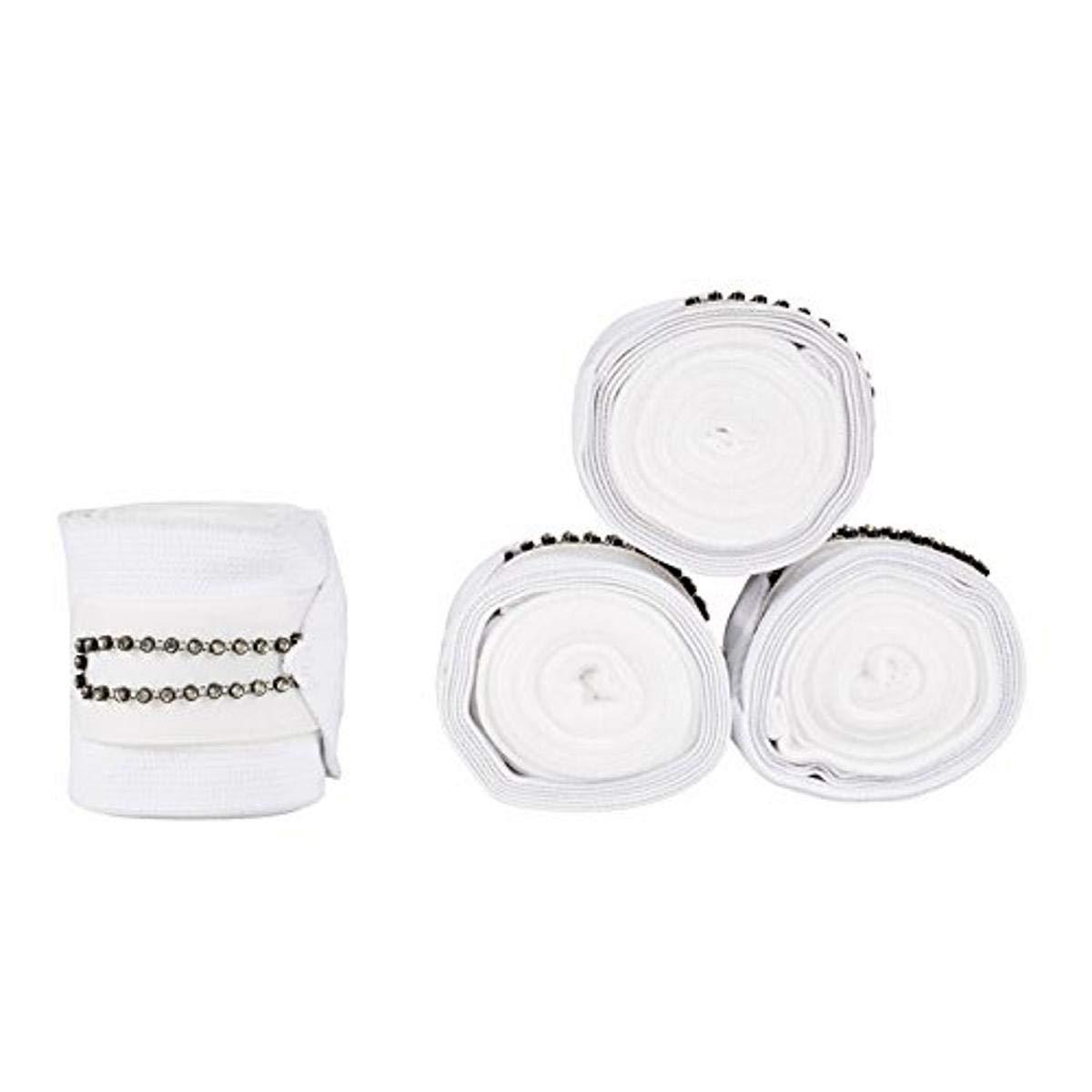 Horze Monaco Combo Bandages - White - One Size