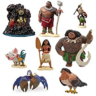Disney Moana Figure Play Set 6 Pieces