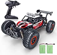 RC Car, SPESXFUN 2020 Newest  1/16 Scale High Speed Remote Control Car, 2.4Ghz Off Road RC Trucks with Two Rechargeable Batt