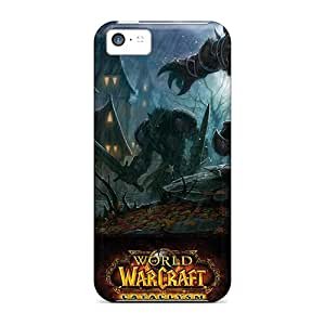 New Arrival Cover Case With Nice Design For Iphone 5c- World Of Warcraft Cataclysm Game