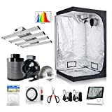 Hydro Plus Small Grow Tent+240W Full Spectrum LED