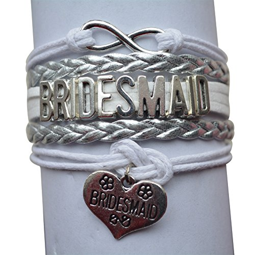 Bridesmaid Gift Bracelet, Bridal Party Bracelet, Makes the Perfect Gift For Bridesmaids ()
