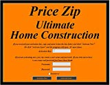 Price Zip Ultimate Home Construction cost estimating software template