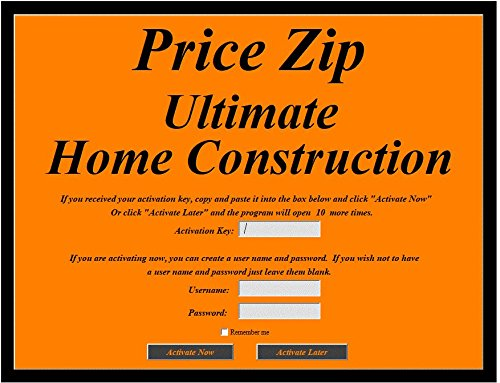 amazon com price zip ultimate home construction cost estimating