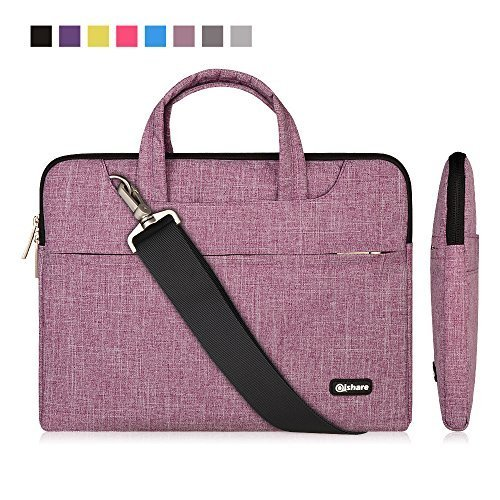 13.3-14 Inch Laptop Bag,Multifunctional Fabric Waterproof Laptop...