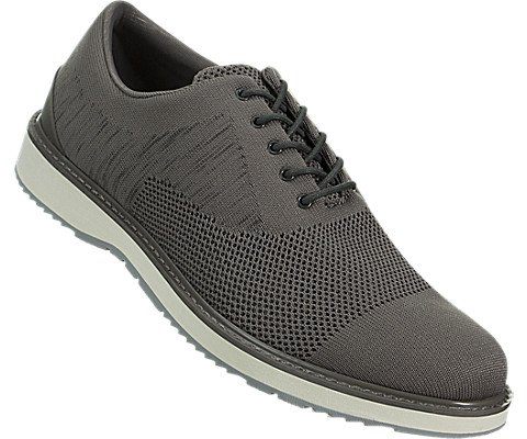 SWIMS Barry Oxford Knit In Khaki Melange/Gray, Size 8 by SWIMS (Image #4)