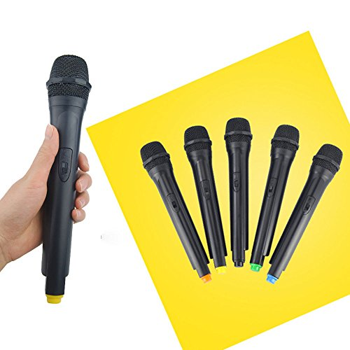 FidgetGear Classic Plastic Wireless Microphone Props Anchorman Vintage mic Handheld ()