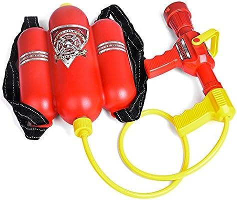 Fireman Backpack Water Gun Blaster Water Gun Summer Squirter Beach Outdoor Toy