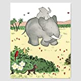 Best Cloud Nine Prints Toddler Girl Books - Babar the Elephant Print Review