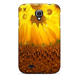 Johnmarkpl Snap On Hard Case Cover Sunflower 3 Protector For Galaxy S4