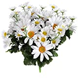 Home-X Artificial Lifelike Daisy Bouquet