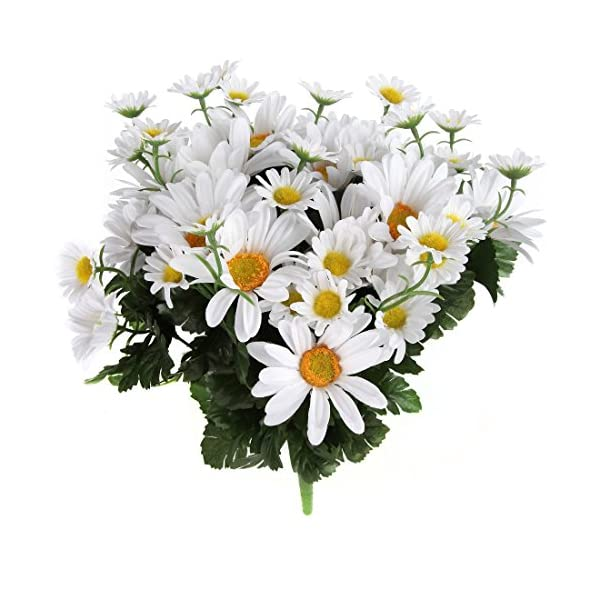 Home-X Artificial Lifelike Daisy Bouquet