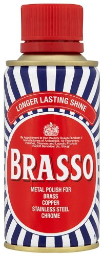 Brasso Metal Polish Liquid 175ml, Pack of 4 RECKI 125759