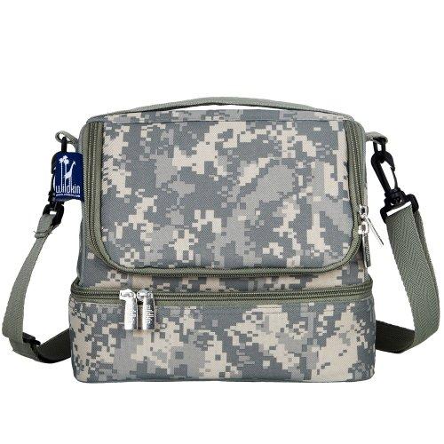 gray-camo-double-decker-lunch-bag