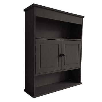 Amazon Com Bathroom Kitchen Wall Storage Cabinet 2 Door