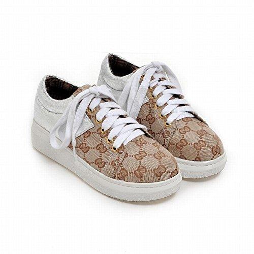 Show Shine Scarpe Da Donna Colori Assortiti Scarpe Moda Sneakers Beige
