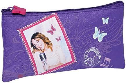 Disney Violetta-Disney-Estuche plano: Amazon.es: Oficina y papelería
