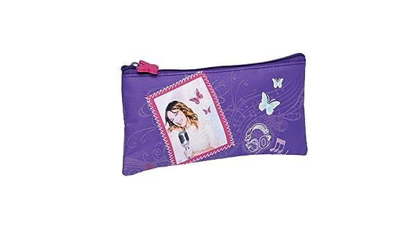 Disney Violetta-Disney-Estuche plano: Amazon.es: Oficina y ...