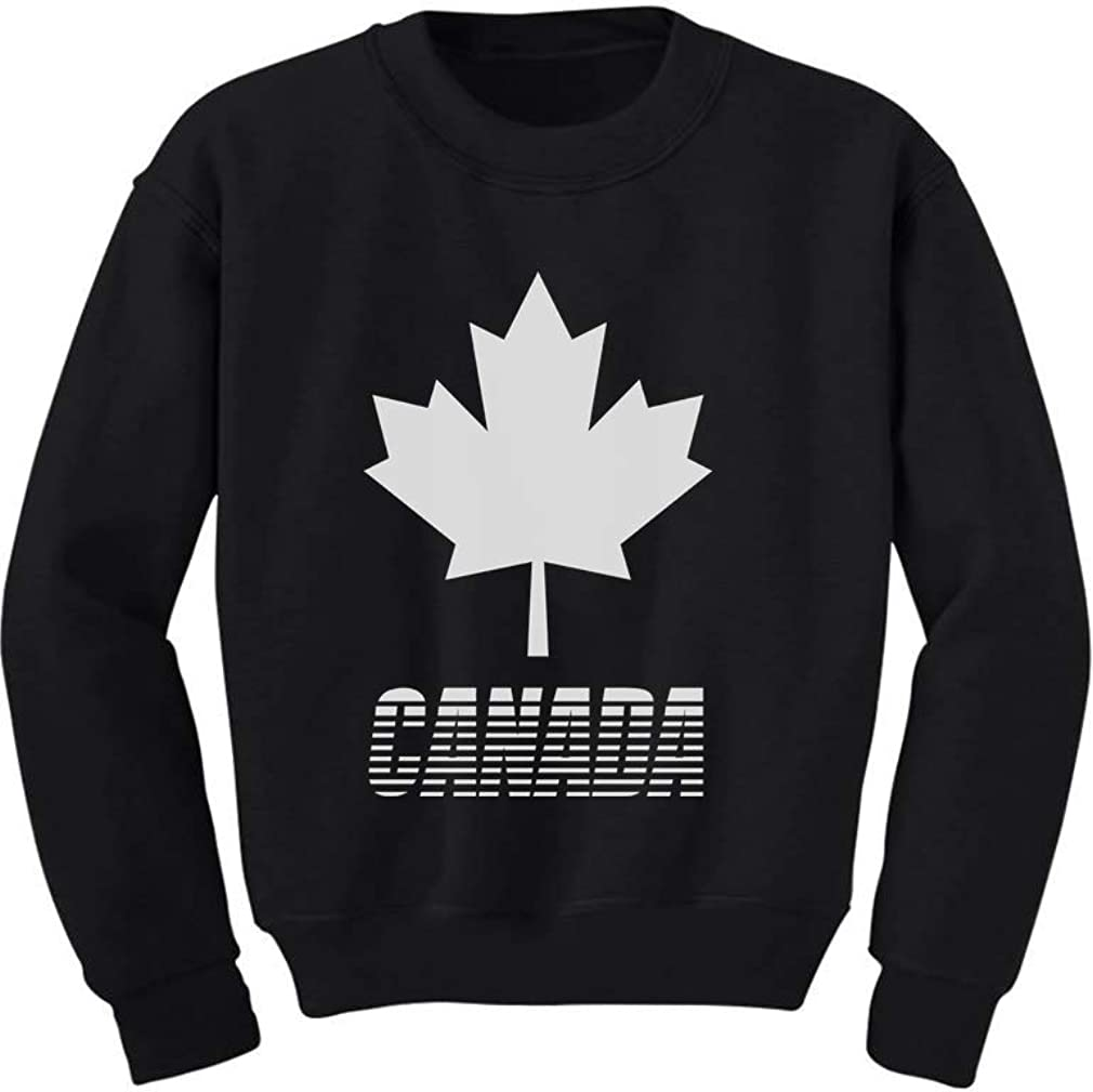 Canadian Maple Leaf Retro Patriotic Canada Day Cute Baby Bodysuit Gift Idea