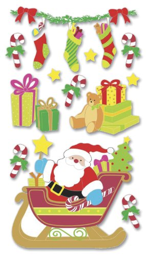 Jolee's Christmas Stickers, Santa ()