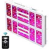MAXSISUN Timer Control 1000W LED Grow Light 12-Band Dimmable Full Spectrum for Indoor Hydroponics Plants Veg and Flowering
