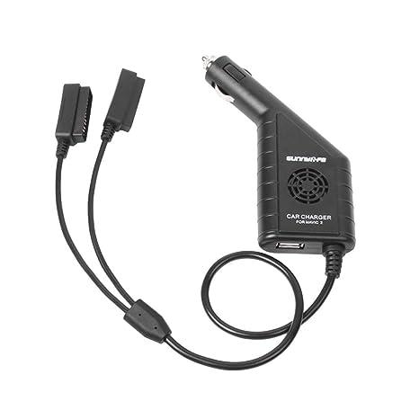 Toyvian Drone Cargador de batería para Coche, Cargador USB 3 ...