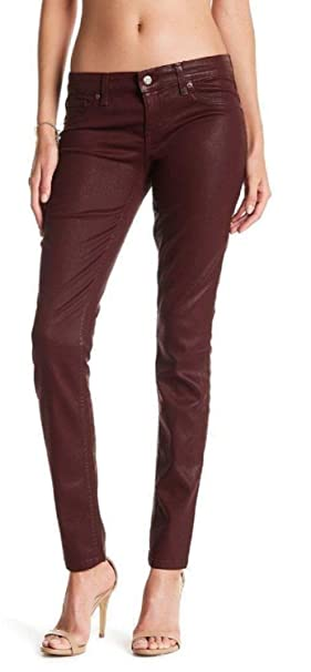 0878c8e64278 Image Unavailable. Image not available for. Color: Level 99 Mid Rise Coated  Skinny Jeans ...
