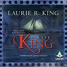 Pirate King Audiobook by Laurie R. King Narrated by Jenny Sterlin