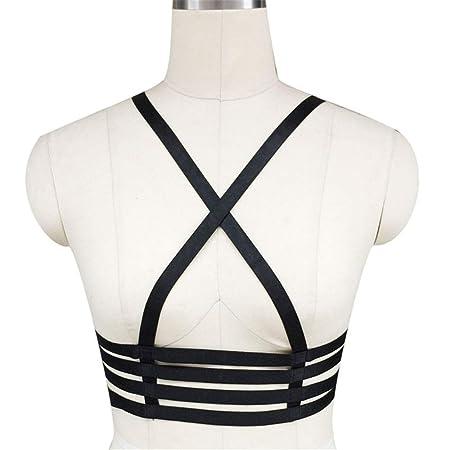 Cinturón de arnés de cuerpo de mujer Lencería femenina Arnés para ...