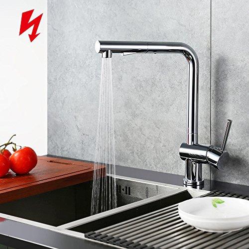 Homelody® Chrom Niederdruck Armaturen Wasserhahn Spültischarmatur ...
