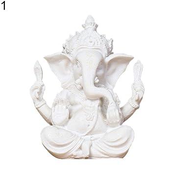 Amazon.com: JDSHSO - Figura de elefante de Ganesha Buda de ...