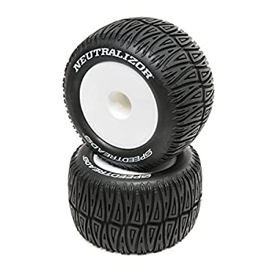 Dynamite Speedtreads Neutralizor 1/8 Monster Truck Tires Mounted (2), DYNW0040: Toys & Games