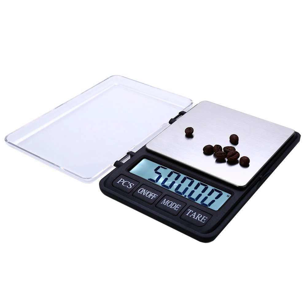 TOOGOO 600g/0.01g 3.5 inch Large Screen Precision Electronic Scale