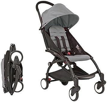 Babyzen YOYO Stroller – Black – Grey by Baby Zen
