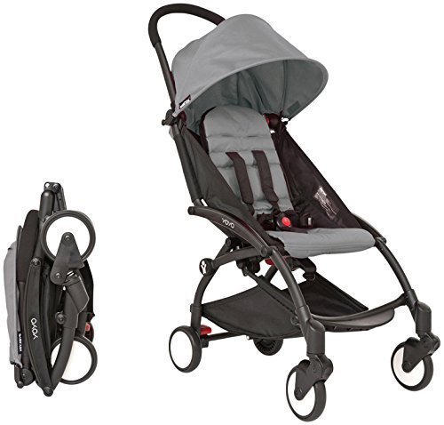 Babyzen YOYO Stroller - Black - Grey by Baby Zen by Baby Zen