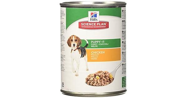 Amazon.com : Hills Science Plan Puppy Healthy Development 12x370g Chicken (Wet) : Pet Supplies