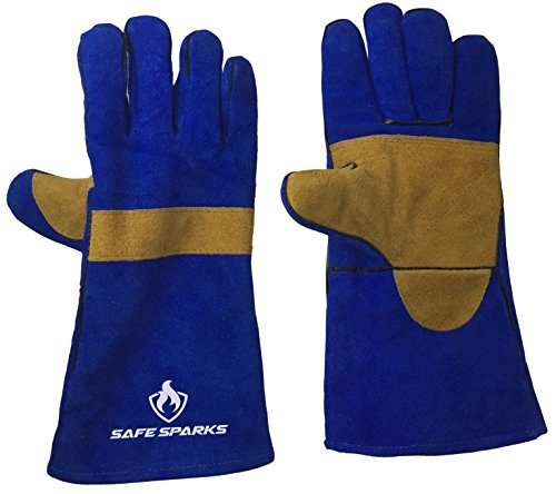 Safe Sparks Resistant Welding Gloves product image