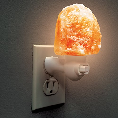 Himalayan Salt Lamp Night Light - Natural Hand Carved 100% Authentic Ionic Pink Salt Crystals by My Perfect Nights (Image #5)