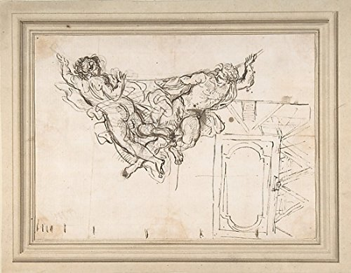 study-for-nude-male-figures-supporting-a-frame-and-plan-of-the-ceiling-decoration-of-palazzo-altieri