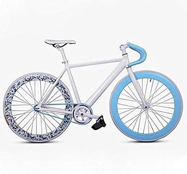 INBIKE 700C fija del engranaje de la bici de Fixie Bici de la pista de bicicletas: Amazon.es: Deportes y aire libre