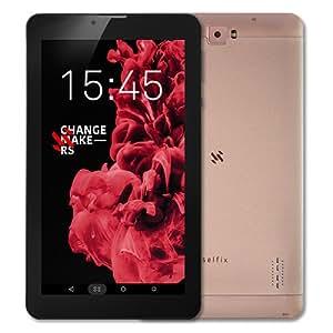 """Tableta Selfix ES730 Booklet 7"""" Dorado"""