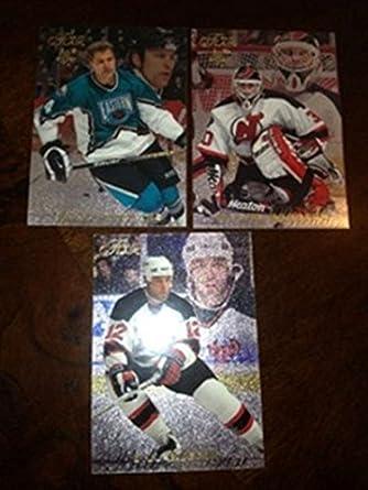 Amazon Com 1996 97 Flair New Jersey Devils Team Set Martin Brodeur