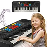 cicadi Piano keyboard for kids, Keyboard Piano 37 Keys Multifunction Portable Piano Electronic Keyboard Music Instrument for Kids Early Learning Educational Toy for 3-12 Year Old Girls Boys Gifts Age 3-12