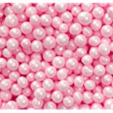Pink Sugar Pearls Sprinkles, 141g (5oz)
