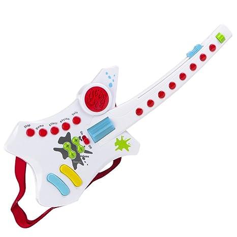 ColorBaby - Guitarra eléctrica con luz y sonido (42592)