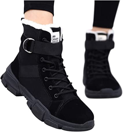 Women's Thicken Fur Lining Sporty Shoes