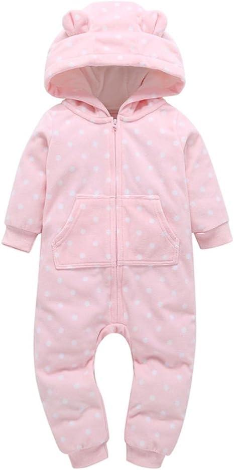 Toddler Baby Girls Bodysuit Short-Sleeve Onesie Number Repeat Pattern Print Jumpsuit Summer Pajamas
